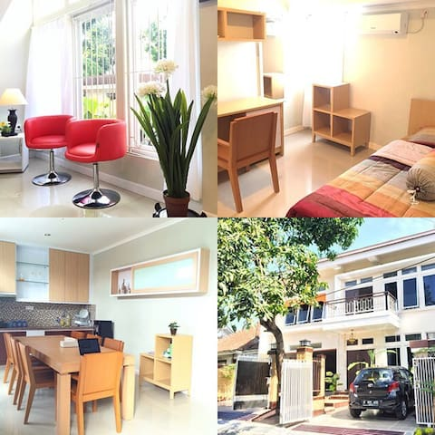 Stay at super comfy home @Bandung! - Coblong - Bed & Breakfast