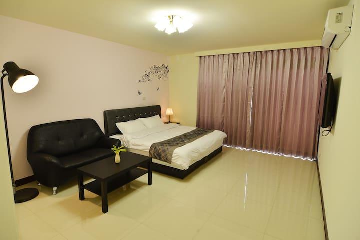 Puli Shine Nest - Terrace Double Room - Puli Township - Gästehaus