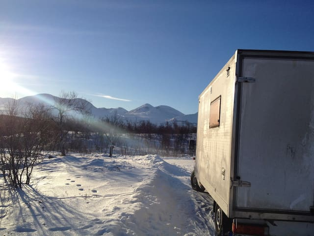 Live in a Truck under the Northern Lights!
