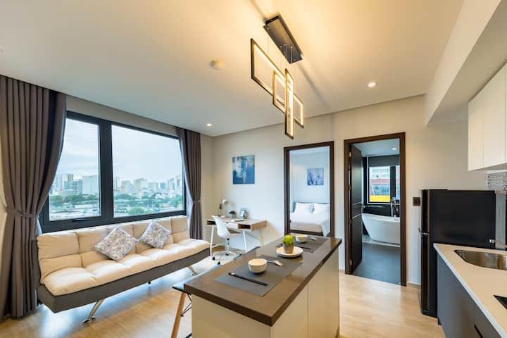 Deluxe Suite 1Pn, Bếp, Toilet riêng