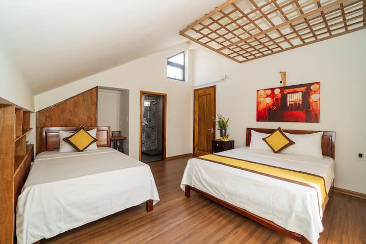 Deluxe Triple Room with Balcony River View