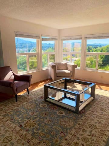 Bright and spacious sanctuary with a view!