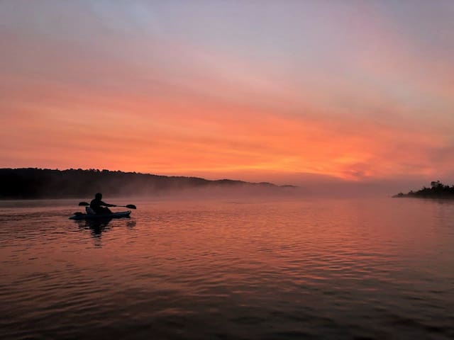 Go for an awesome sunrise paddle