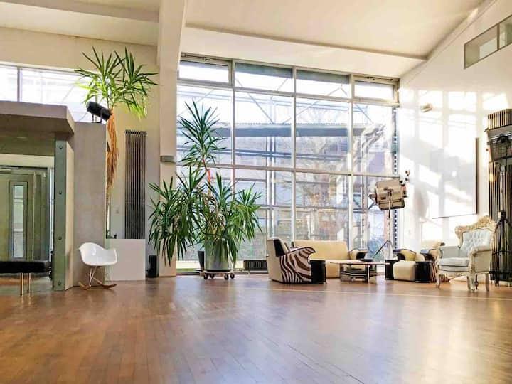 Loft Style Living 260qm + Terrace near FRANKFURT