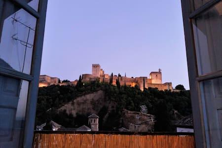 AMAZING VIEWS FROM THE ALBAICIN - Granada - Lejlighed