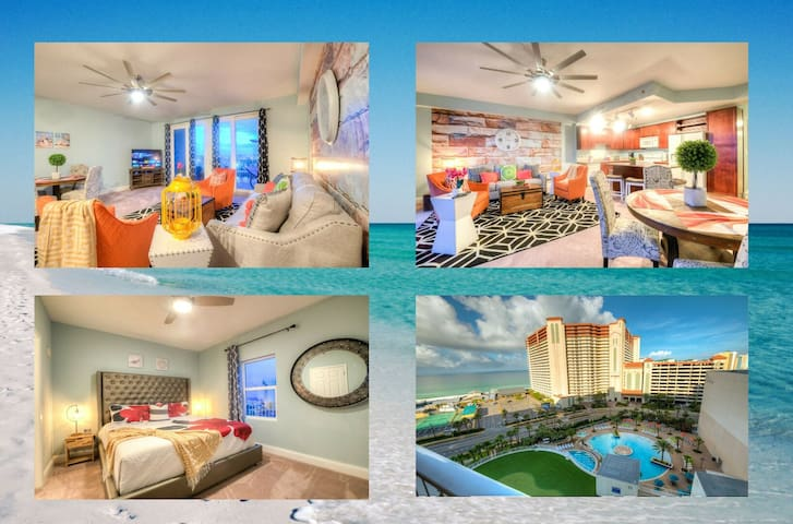 Amazing Style In Laketown Wharf! 1 BD, 2 BA by ZIA!  Amenities and Location!
