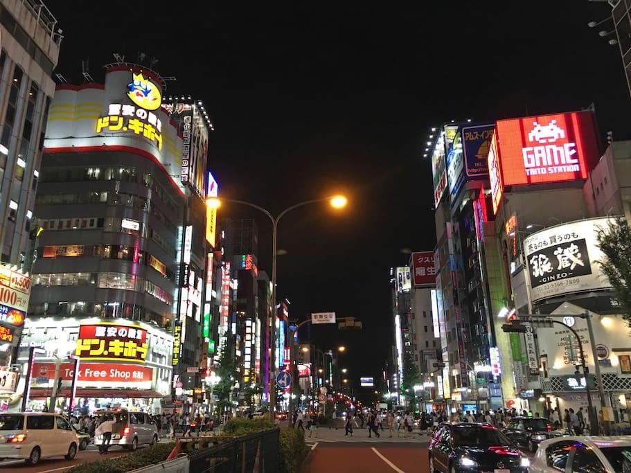 tidy flat shinjuku golden gai kabukicho area wohnungen zur miete in japan. Black Bedroom Furniture Sets. Home Design Ideas
