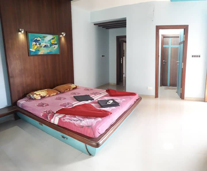 Garden view luxurious room in margao