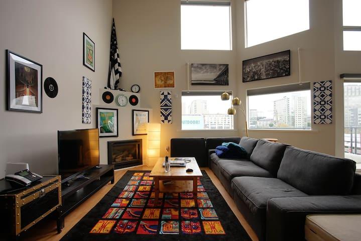 Artsy Loft in the ❤️ of Convenience - San Francisco - Loft