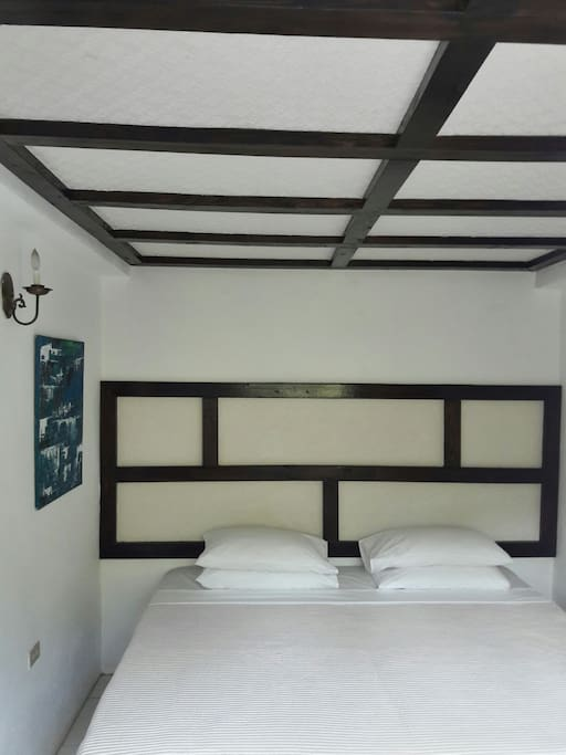 The Getaway rooms with shared bathroom.