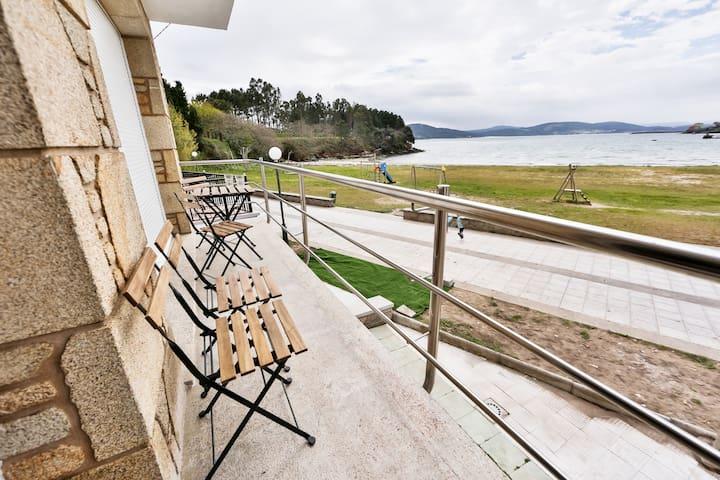 Duplex a pie de playa