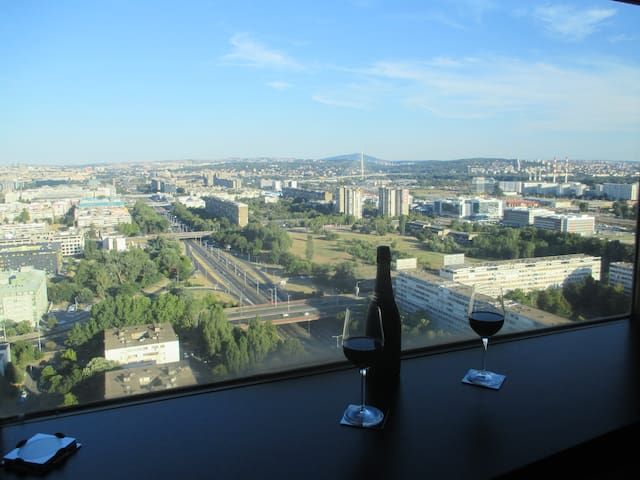 Really the best view of Belgrade! From Genex tower