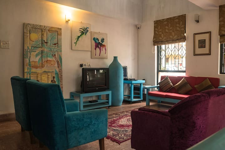 cute 3 bedroom villa 300m from Baga beach