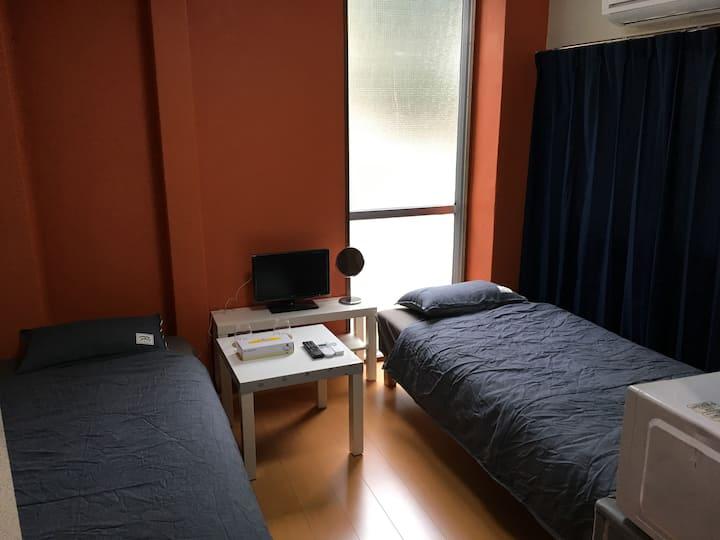 アメ201池袋駅徒歩圏内のマンションタイプで三密回避 家具家電付きのお部屋で自炊も可能 消毒殺菌清掃