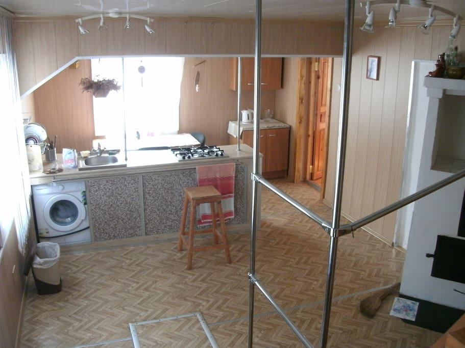 Кухня,общий вид.