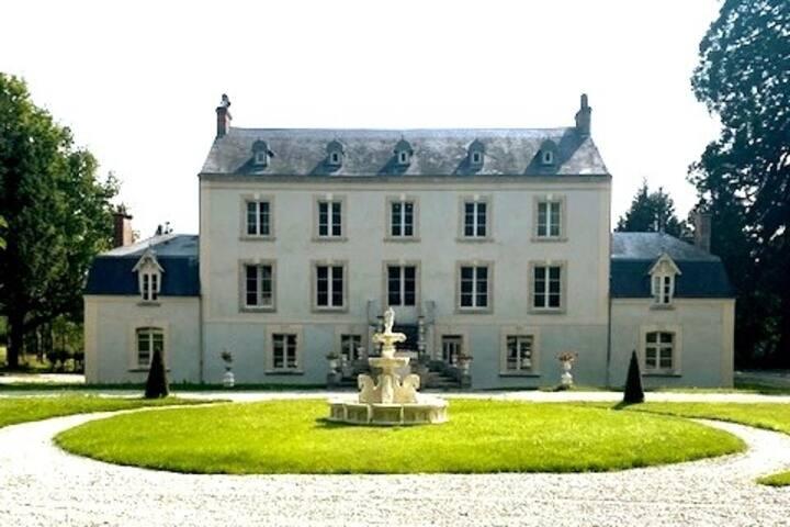 Château la Gauchetière à 1h de la mer