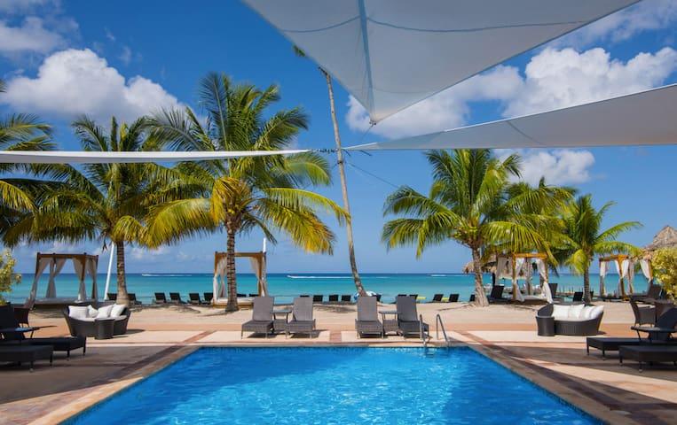 Charming Beach Apt Cadaques Caribe! - Dominicus Bayahibe - Leilighet