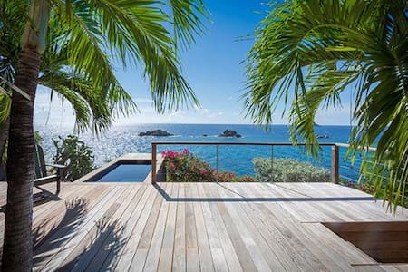 Villa WV GUS - Contemporary, quiet villa near lively activities of the harbor - Gustavia - Vila