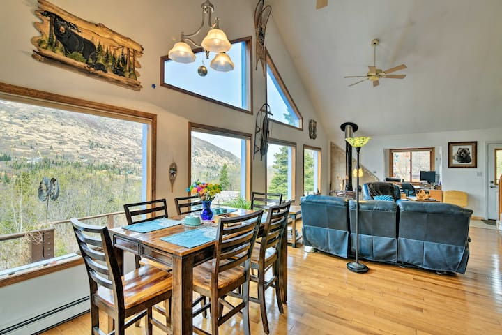 NEW! Eagle River Home w/ Hot Tub & Mountain Views!