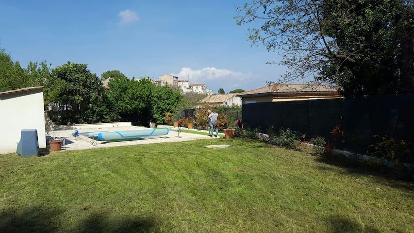 Architect house & pool in Provence - Saint-Savournin - Casa vacanze