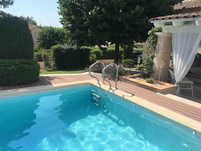 Belle maison familiale sur Aix en Provence