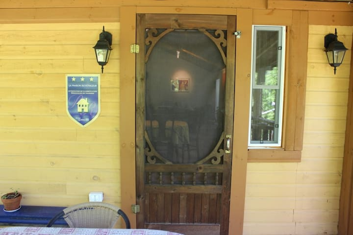 Entrée de la résidence-loft