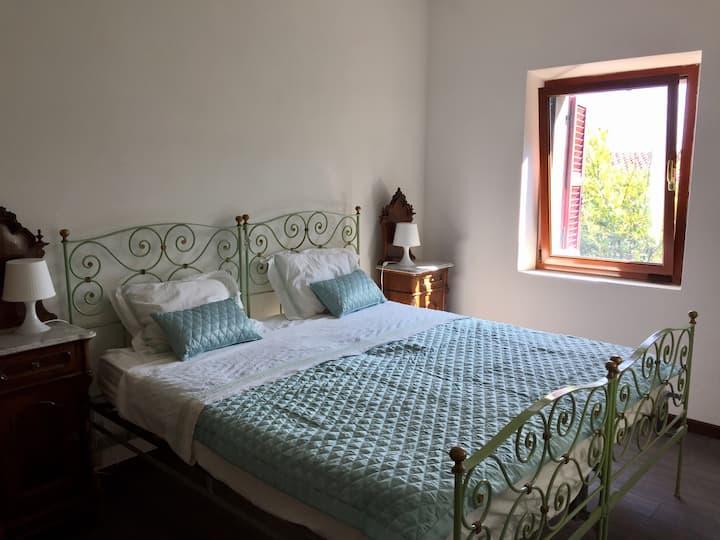 Chambre double villa vacanceAncona Riviera Conero
