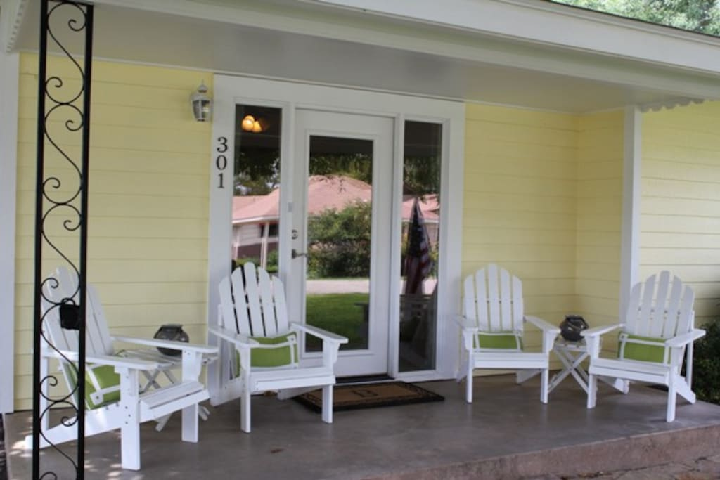 Front porch-relaxing