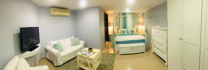 Top offer -lovely bedroom-glamorous sea view-Dubai