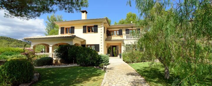 Magnificent 4 bedded holiday villa  - Crestatx