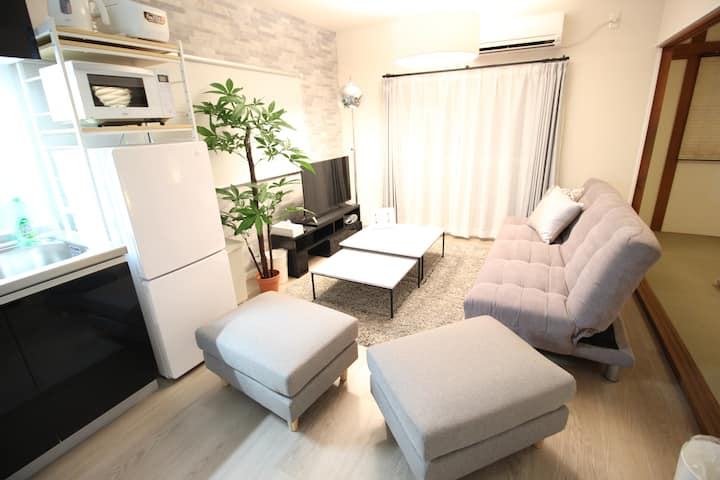 【Stay safe ✿】Spacious house, 3min to st. CG-1