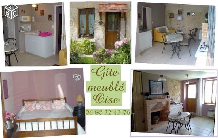 Gîte Oise proche Chantilly Senlis - Rieux - House