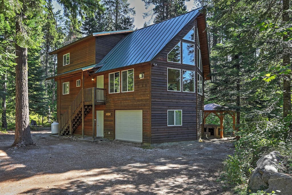 Secluded 4br Leavenworth Cabin Cabins For Rent In