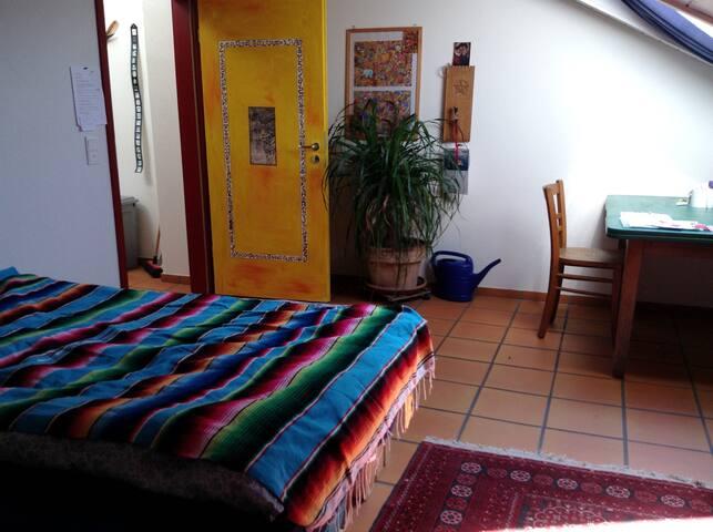 Zimmer mit Himmelblick - Rieden - Casa