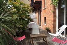 Grande maison familiale à Toulouse avec piscine
