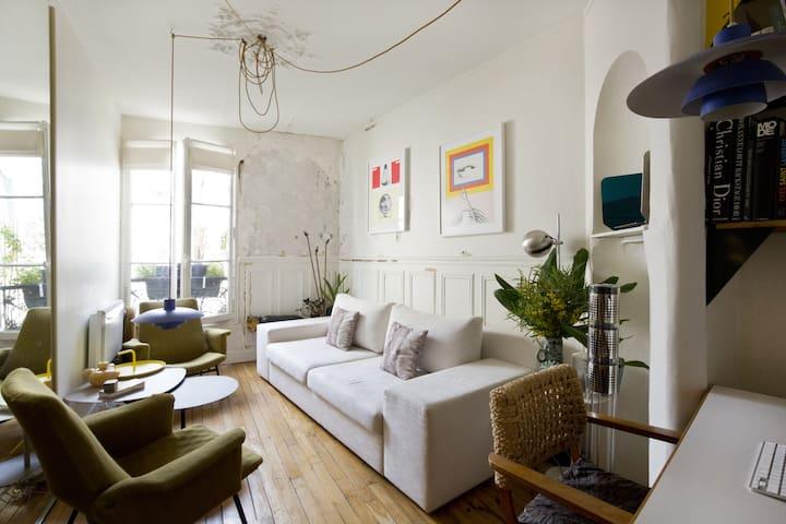 appartement parisien charmant - Paris