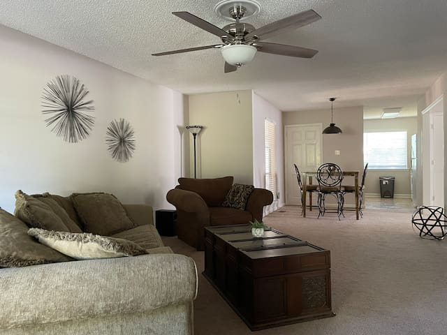 Living room from entrance
