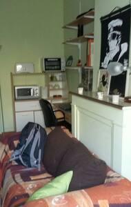 Chambre avec cours centre d arras - Arras - Apartment