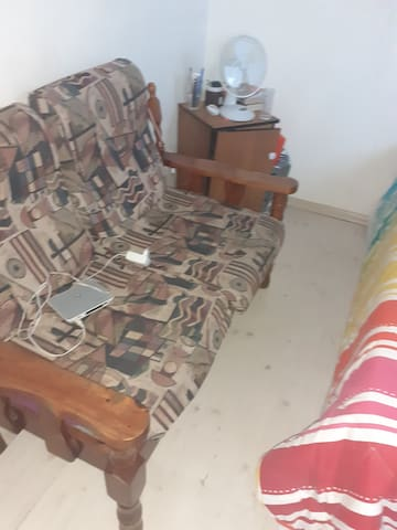Extra couches in main bedroom