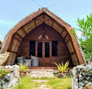 Ecoresort Sumbadream bungalow wood family