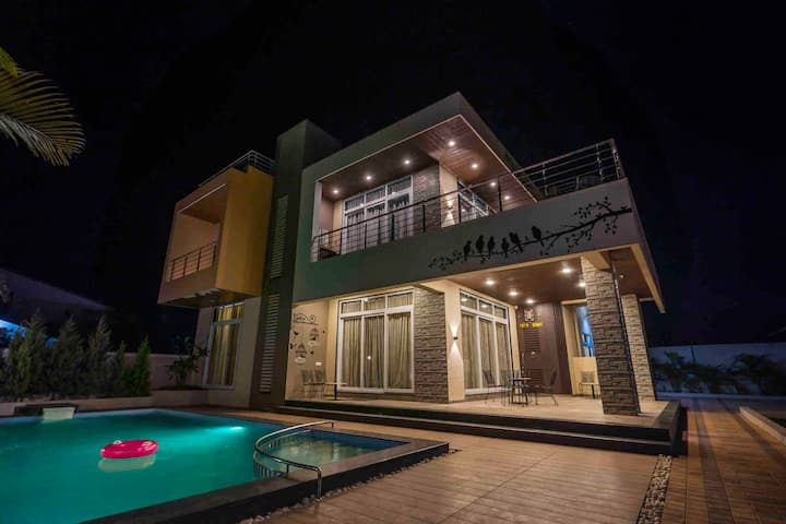 RockFort #4BHK Private Pool Villa with ClubHouse