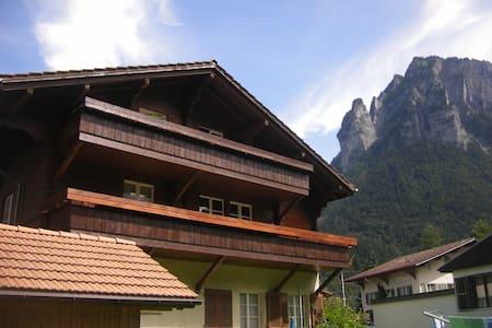 4 1/2 Zimmer Wohnung mit 2 gr. Balkonen - Innertkirchen - 아파트