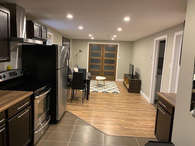 Superbe appartement fraîchement rénové