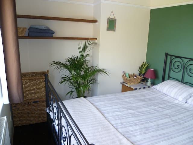 Oxford double room with garden view