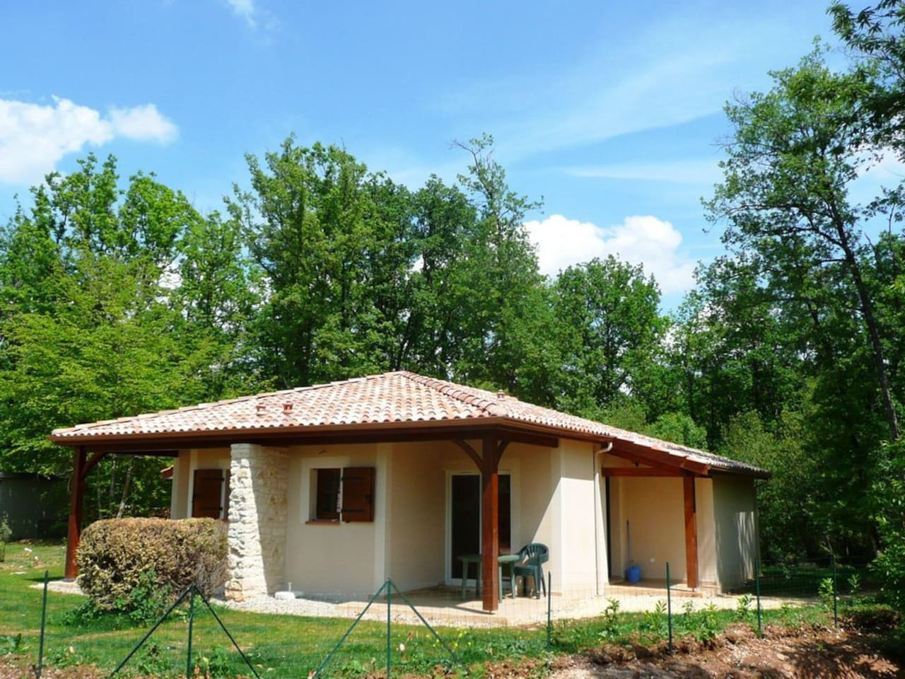 Villa Quercy 4/6 pers (ici 2x Quercy)