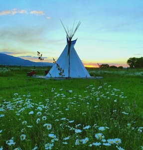 Traditional Tipi with a Twist