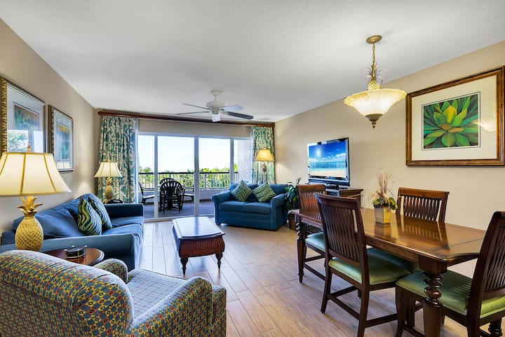 NEW LISTING! Resort On Cocoa Beach 2BR Ocean Front
