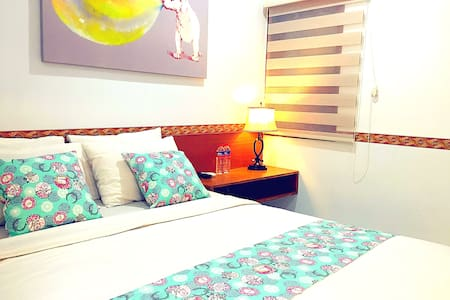1 QUEEN BED WITH AC @PASTEUR - Bandung - House