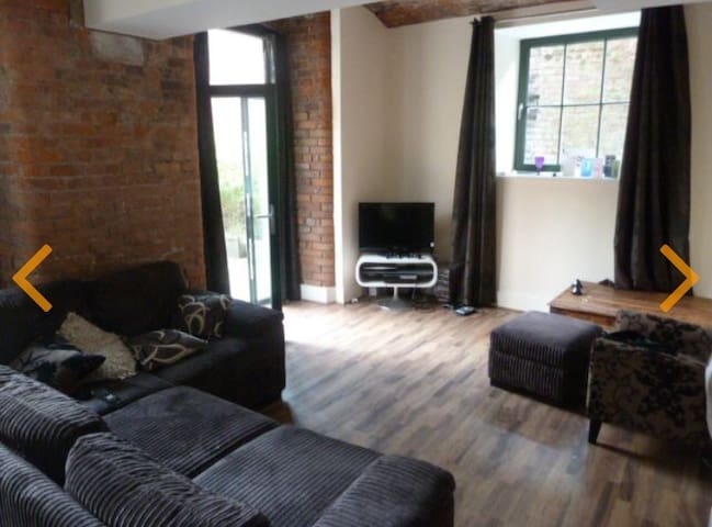 Manchester City Centre double room with terrace - Manchester - Condominium