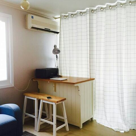 Flat House : Twin Room (2 Bed) - Jung-gu - Casa de hóspedes